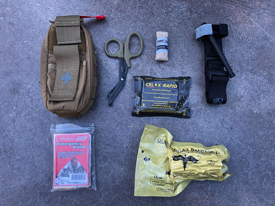 ifak pouch and ifak contents